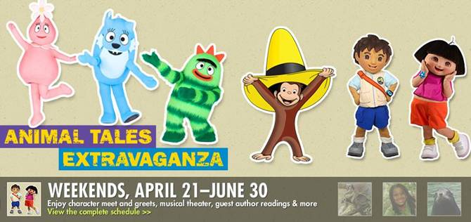 OPENING WEEKEND: Bronx Zoo…Animal Tales Extravaganza & 20% OFF Coupon