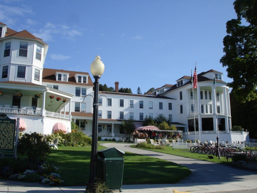 A real taste of history.  First hotel on Mackinac Island.