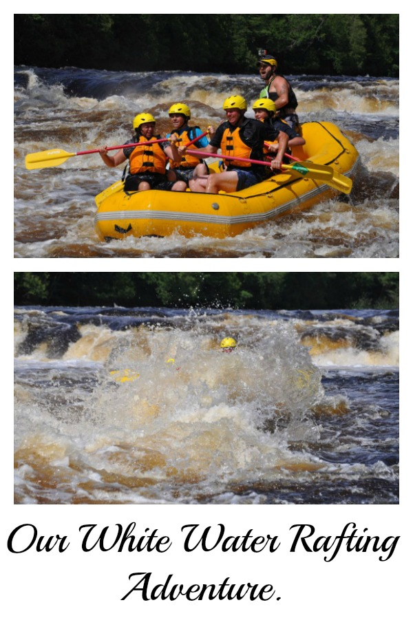 White Water Rafting – How's that for a family fun adventure?