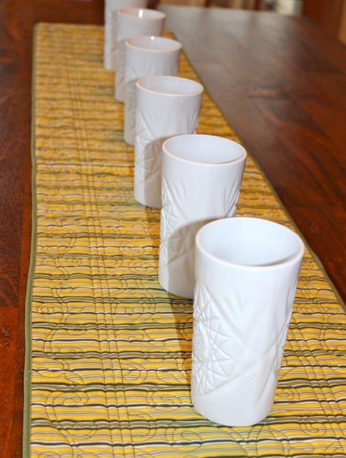 White vase DIY.