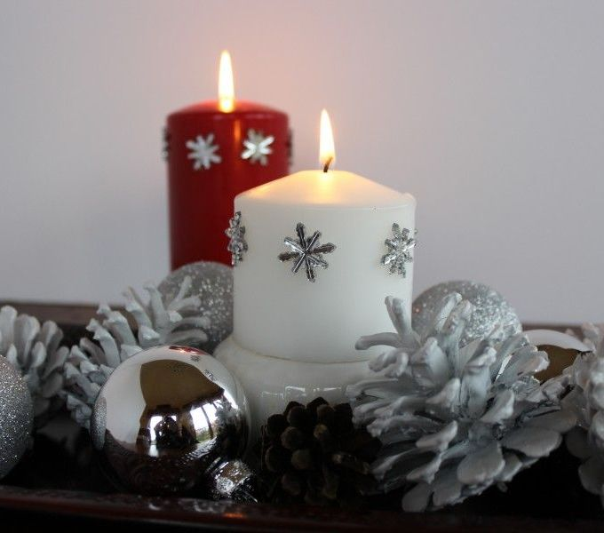 Bling out your candles!