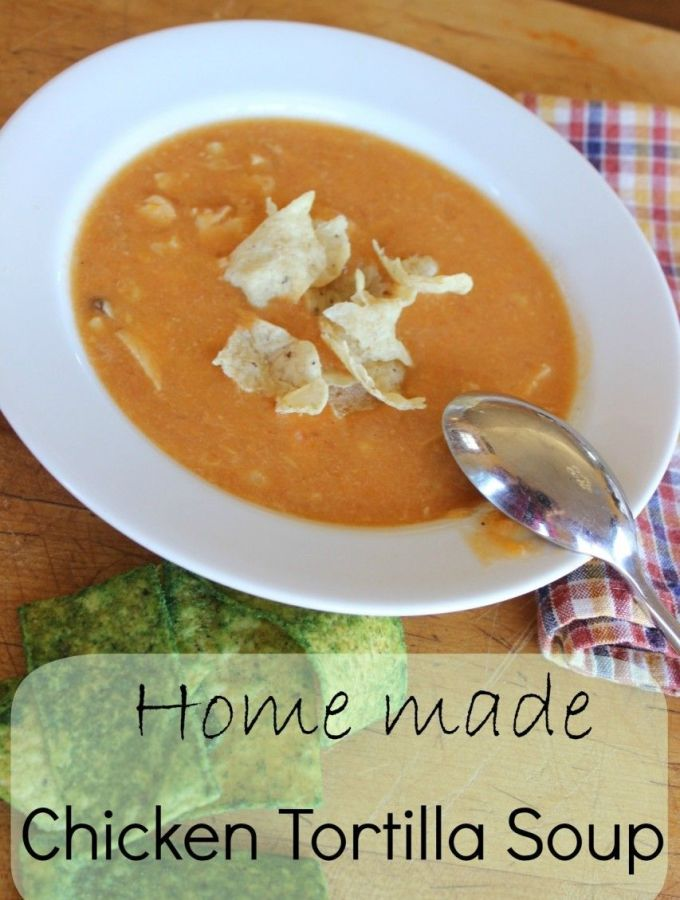 Chicken Tortilla Soup – a very satisfying, flavorful soup!