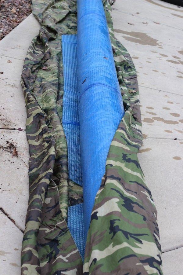 pool solar blanket storage