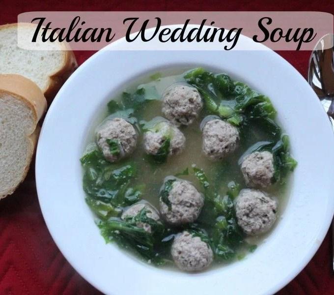 Italian Wedding Soup – Homemade!