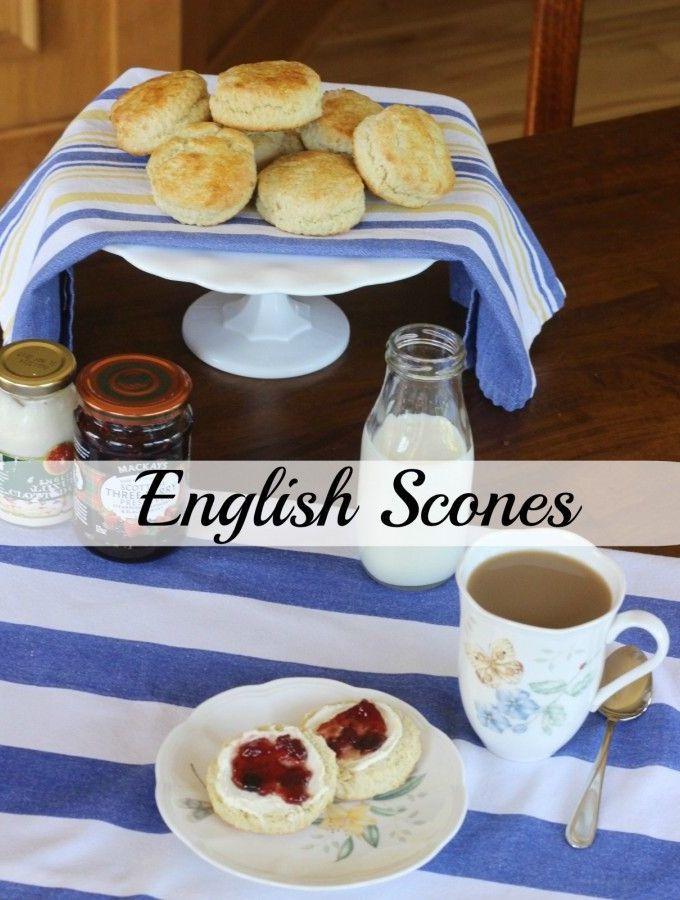 English Scones – Amazing Recipe from England!!
