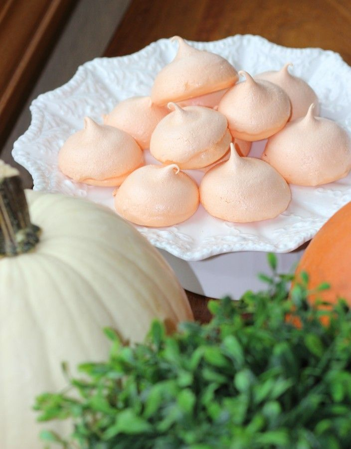 Fall hard meringues. Easy to make!