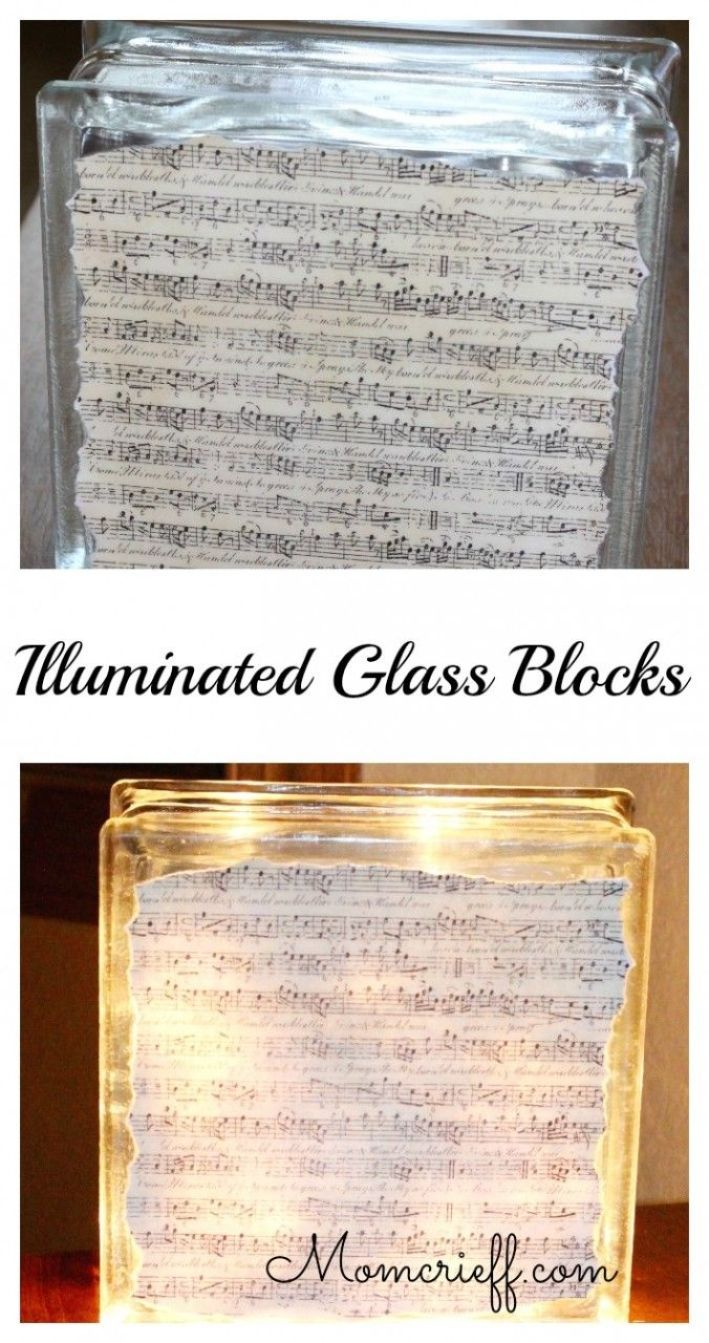 Illuminated Glass Blocks
