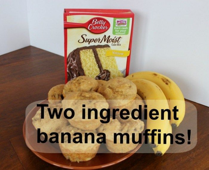 Top 10 Food Recipes - Two Ingredient Banana Muffin
