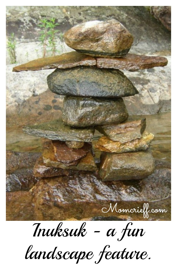 Inuksuk – A Fun Landscape Feature.