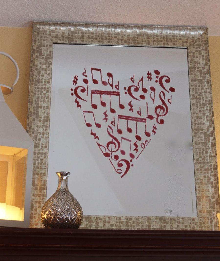 Valentines Day Stencil Challenge