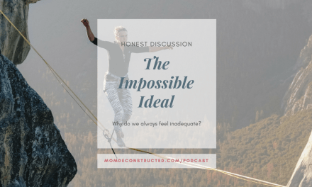 Honest Discussion: The impossible ideal. Why do we always feel inadequate?