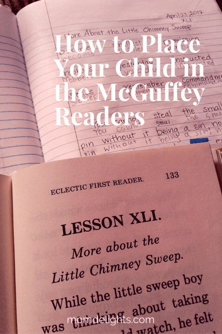 How to Place Your Children in the McGuffey Readers