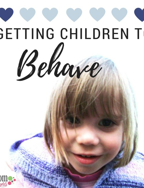 A Summer Project: Getting Children to Behave