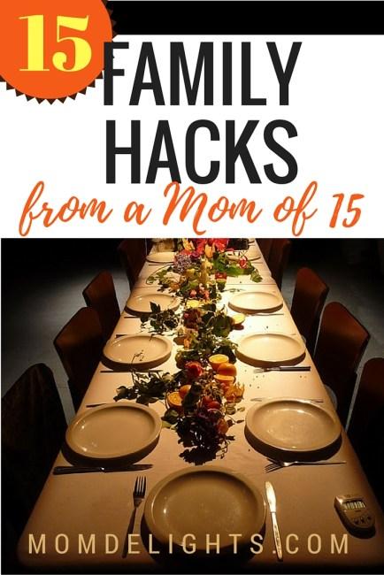 family hacks