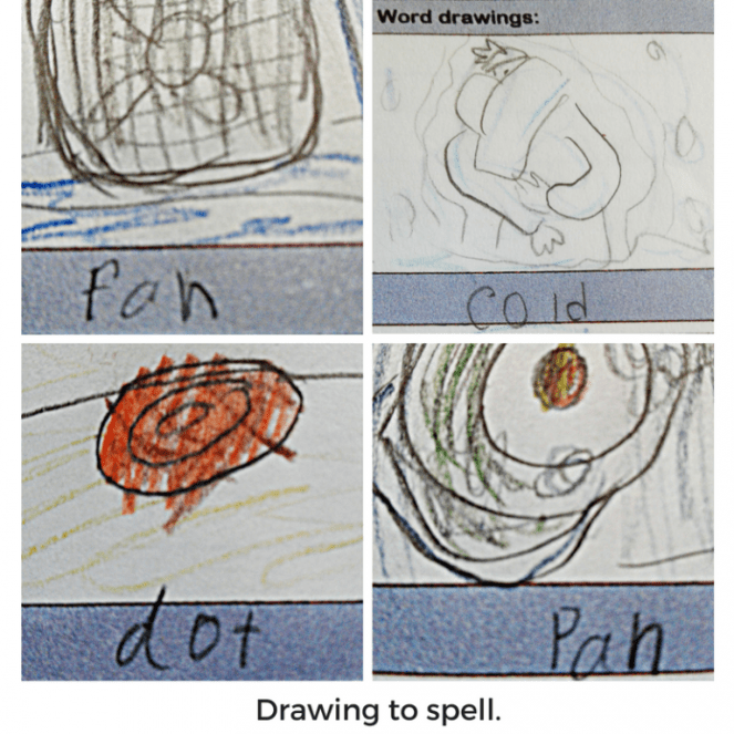 Drawing to Spell