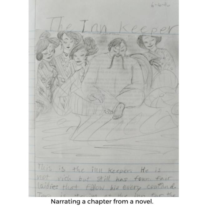illustration for narration