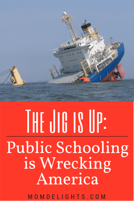 The Jig is Up: Public Schooling is Wrecking America