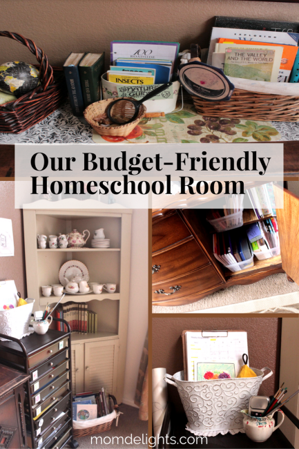 homeschool room, decorating on a budget, homeschool room on a budget, homeschool room for real learning, real-life homeschooling