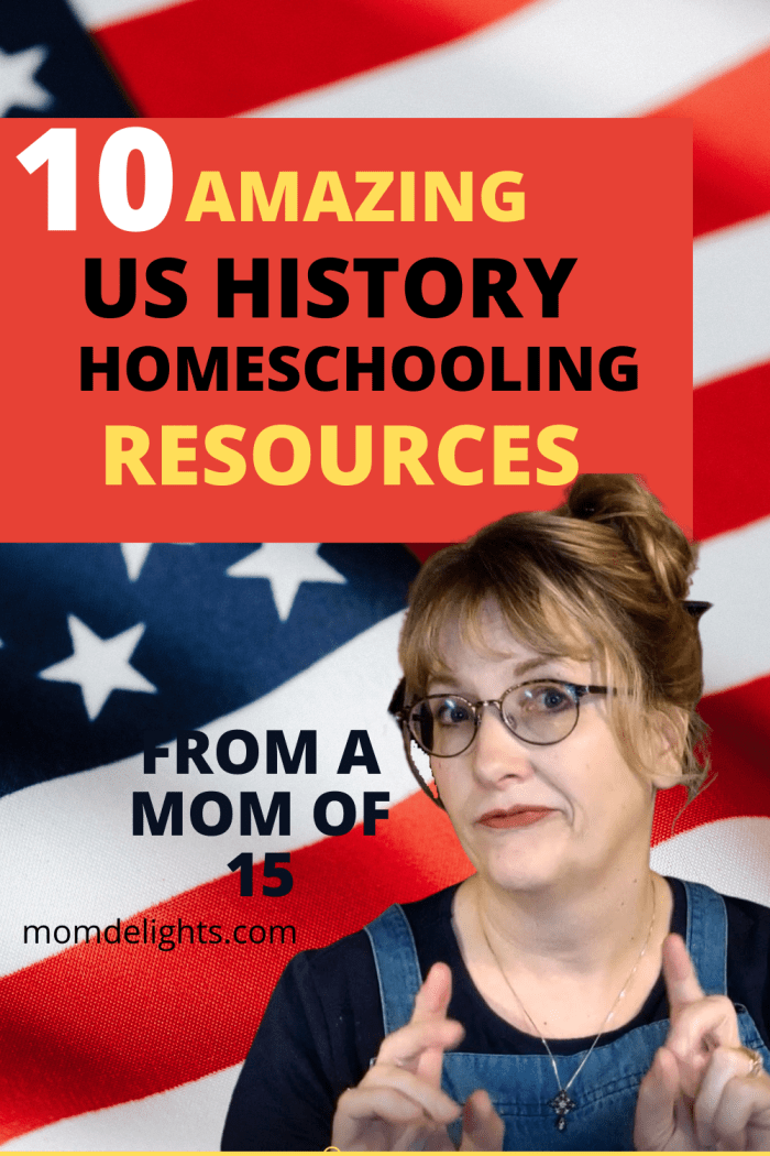 Resources for true us history homeschooling