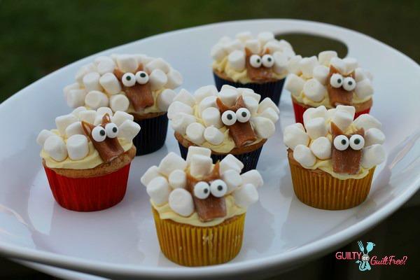 Sheep Cupcakes, How To Make