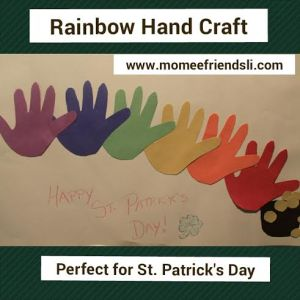 hand rainbow
