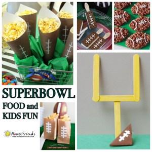 Superbowl Kids Fun