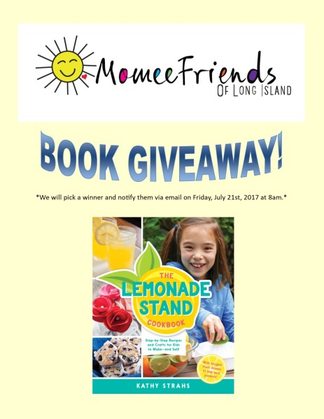 Lemonade stand book giveaway