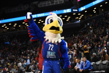 BROOKLYN, NY - February 4: During the game between the Fort Wayne Mad Ants and Long Island Nets on February 4, 2019 at Nassau Coliseum, Uniondale, New York. (Photo by Jen Voce-Nelson)
