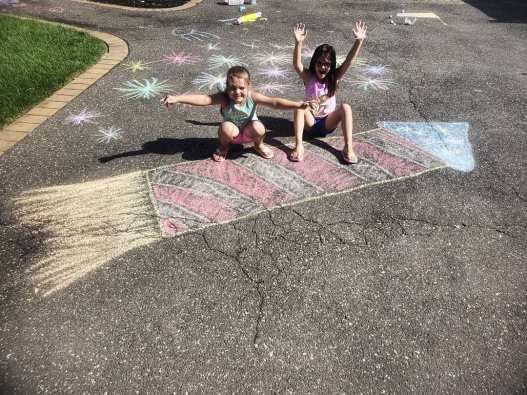 rocket chalk