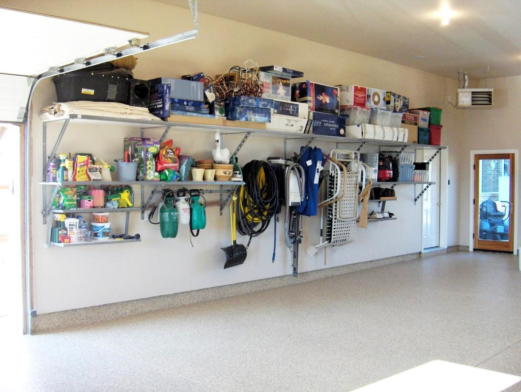Garage Storage Solutions For the Busy Family on Organized Garage  id=28695