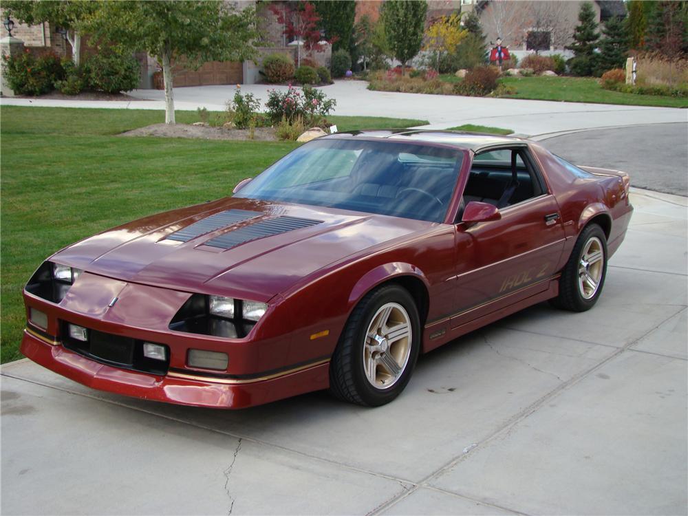 1988 Chevrolet Camaro Information And Photos MOMENTcar