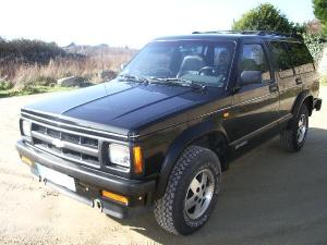 1992 Chevrolet S10 Blazer  Information and photos