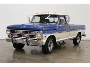 1968 Ford F250  Information and photos  MOMENTcar
