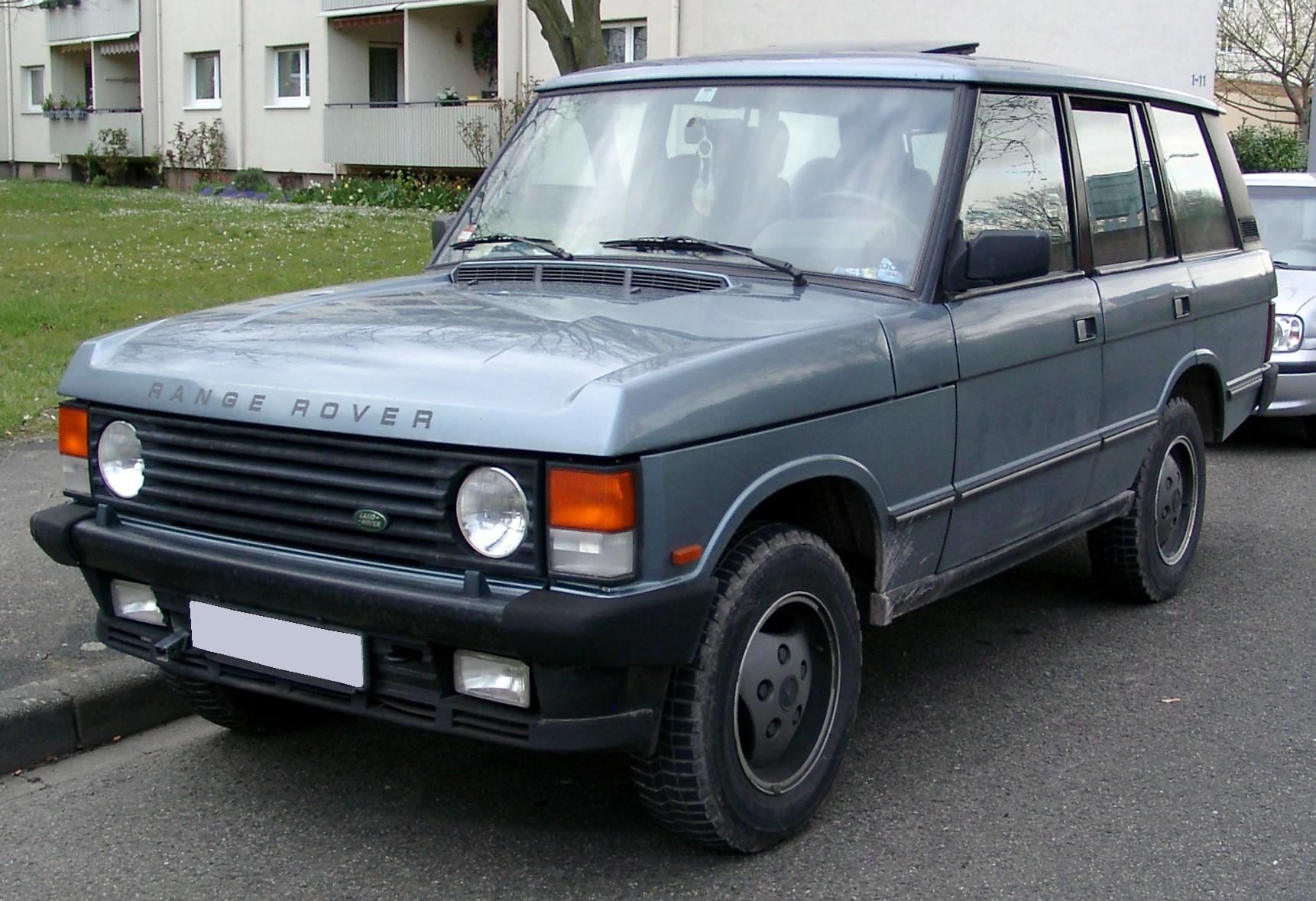 1994 Land Rover Range Rover Information and photos MOMENTcar