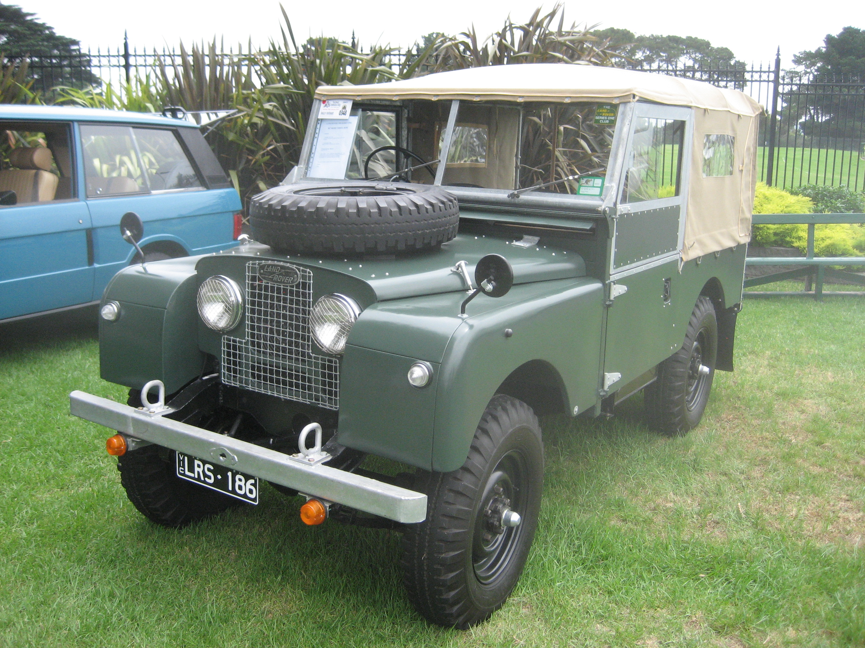 1962 Land Rover Series II Information and photos MOMENTcar