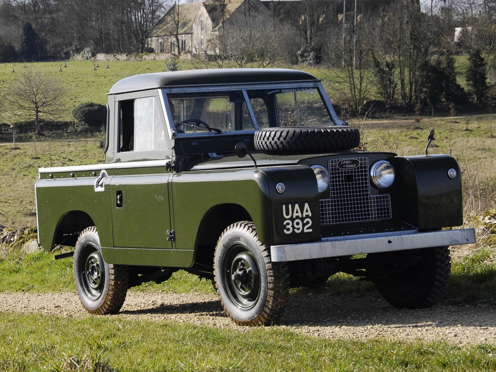 1969 Land Rover Series II Information and photos MOMENTcar