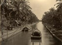 Boats on Canal, Negambo