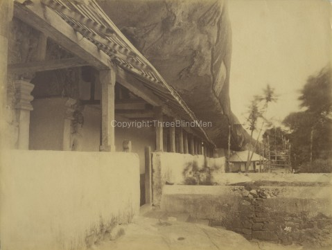 Outside of Cave Temple Dambulla