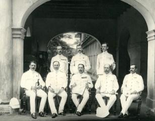 Staff at Headquarters, Colombo [Image Courtesy: www.imagesofceylon.com ]