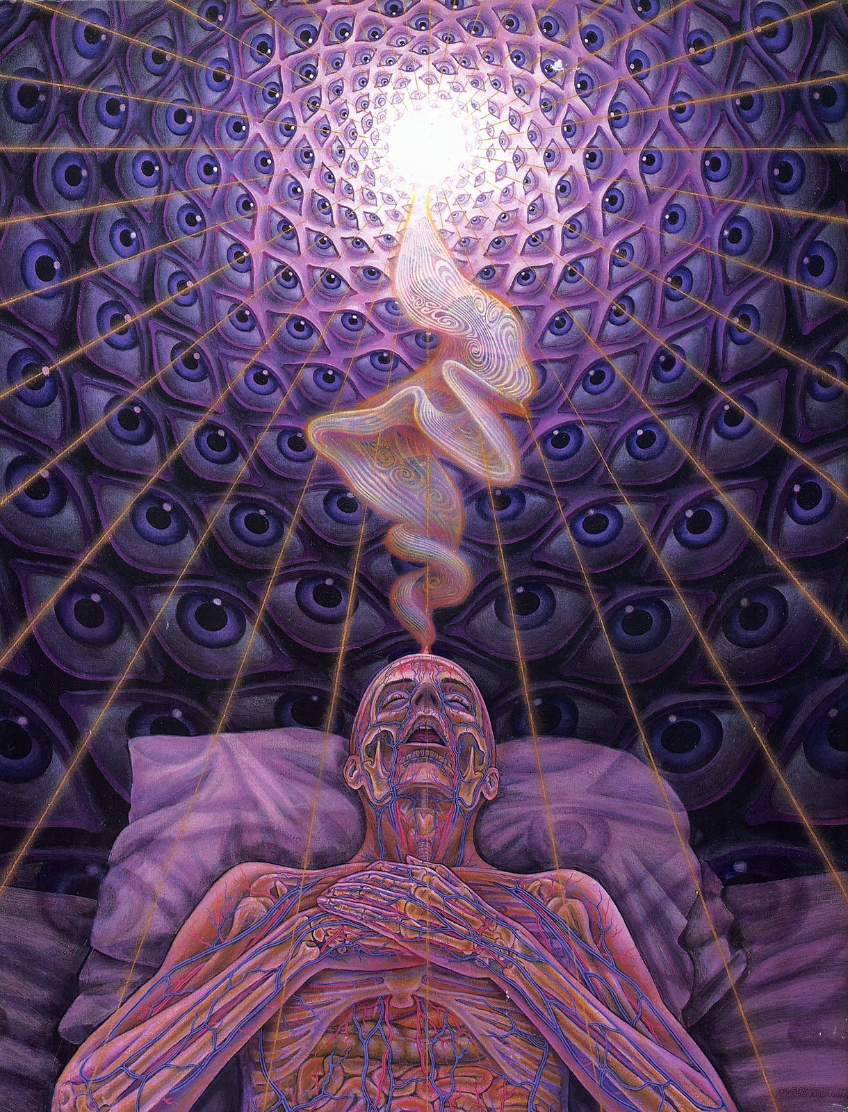 Dying by Alex Grey