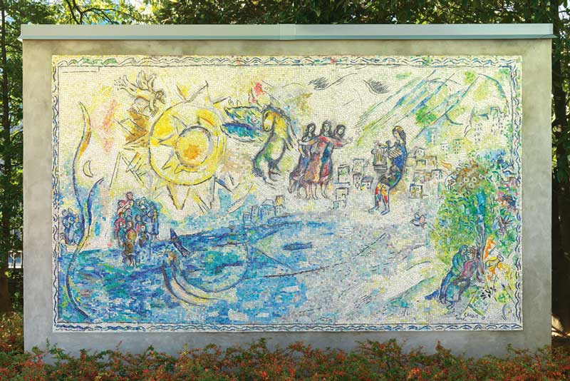Orphée by Marc Chagall