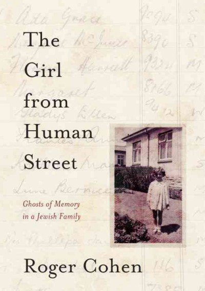 The Girl from Human Street by Roger Cohen cover