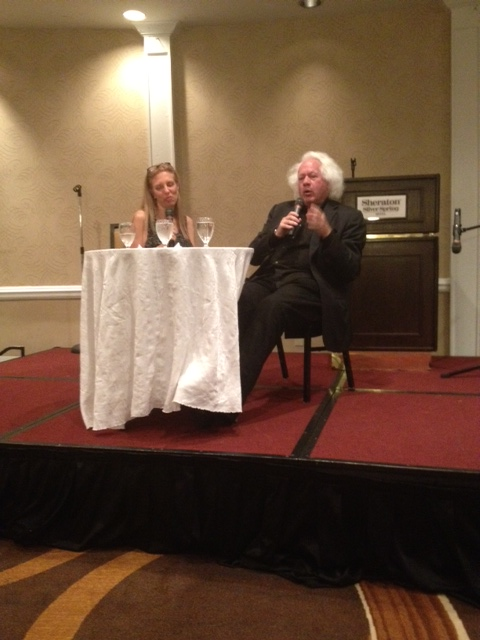 Leon Wieseltier answering questions