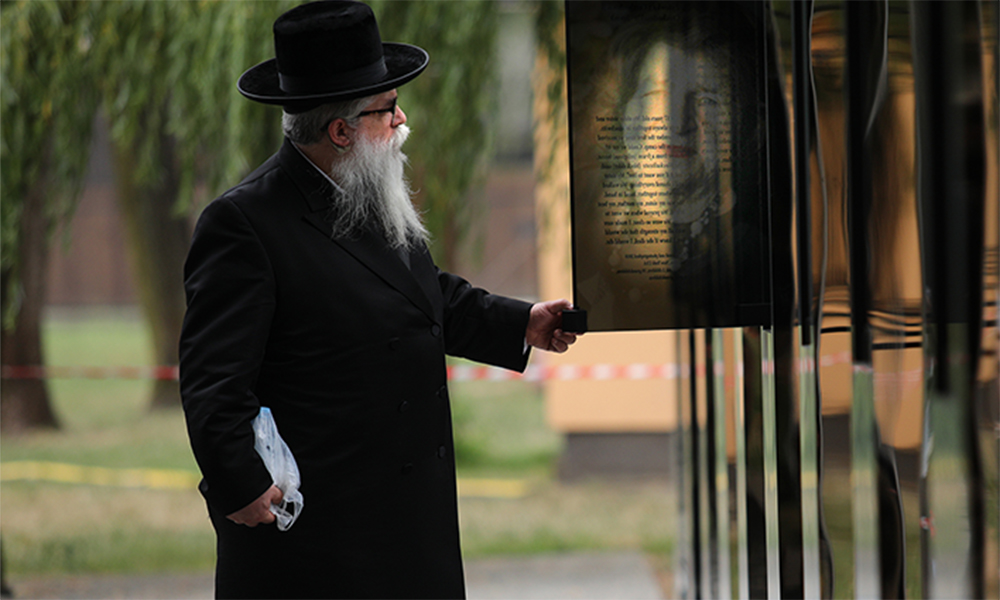 Talking With God  at Auschwitz