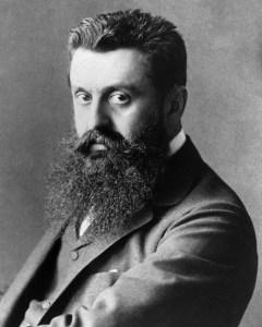 Photograph of Theodor Herzl