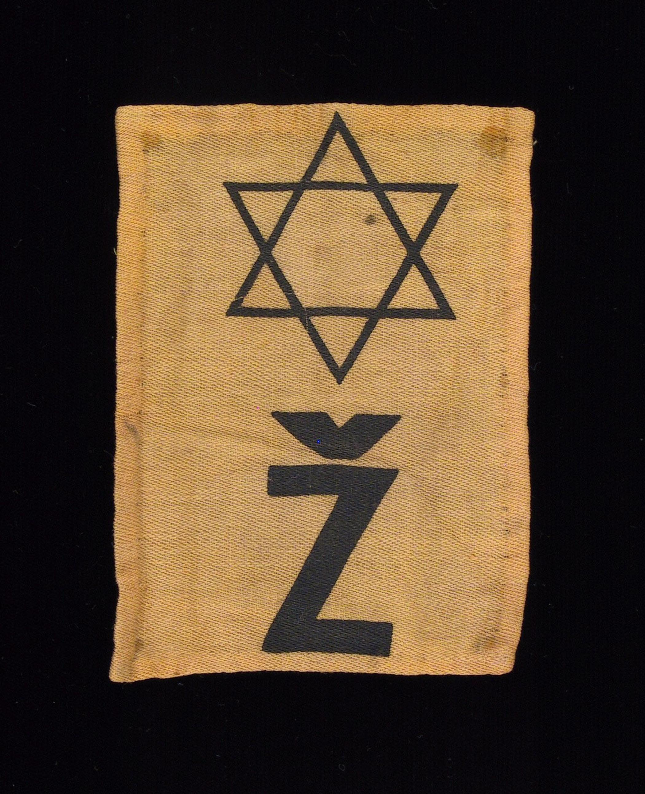 """In Czech, """"Z"""" denotes Jewish."""