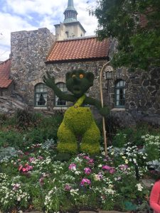 Troll in Norway at Epcot Flower and Garden Festival