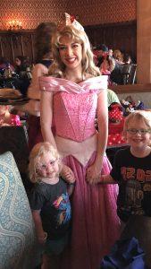 Princess Aurora at Cinderella's Royal Table
