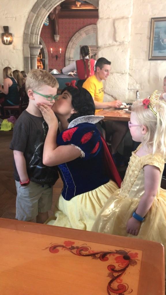 Snow White Kisses at Akershus Royal Banquet