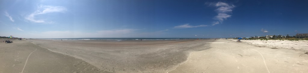 Panorama of Isle of Palms